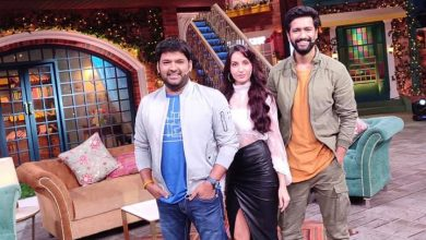 Photo of Vicky Kaushal & Nora Fatehi in The Kapil Sharma Show