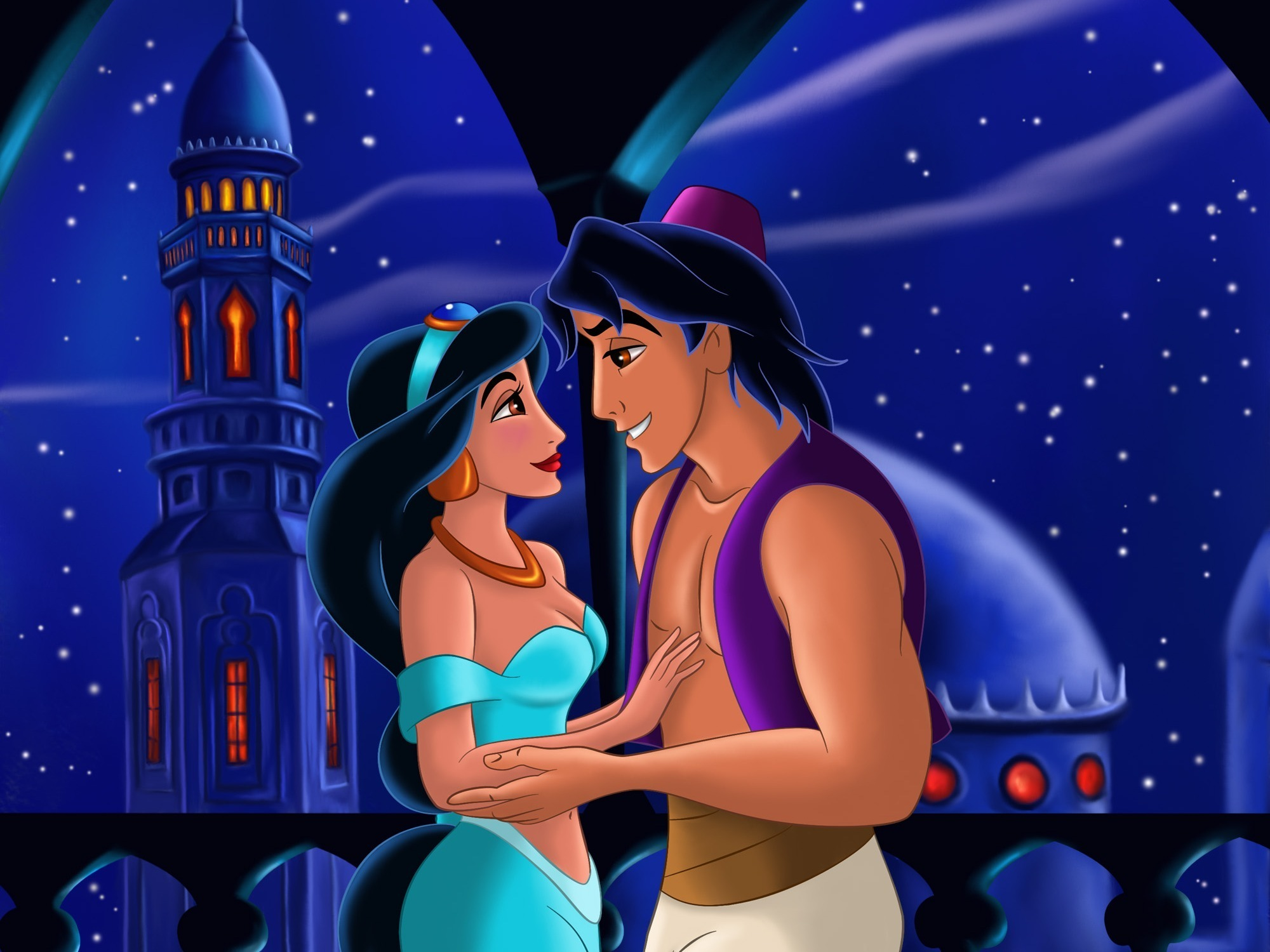 Most Beautiful Smiling Aladdin Together Forever Walt Disney