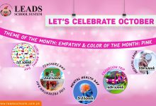 Photo of Let's Celebrate October | Leads School System