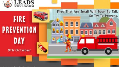 Photo of National Fire Prevention Day | Leads School System