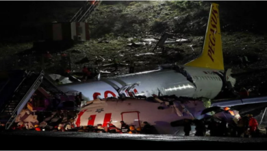 Photo of Plane crash at Istanbul Airport