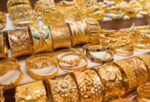 Photo of Gold prices dropped, shoppers shuffled