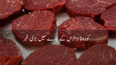 Photo of Pakistani people become wary, big ban on meat due to corona virus