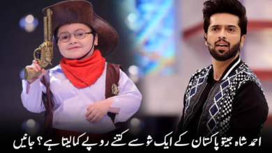 Photo of How Much Money Does Ahmed Shah Earn From a Show in Jeeto Pakistan