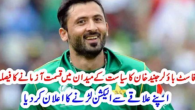 Photo of Fast Bowler Junaid Khan will Try His Luck in Politics