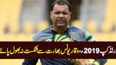 Photo of Waqar Younis Could Not Forget The Defeat Against India – World Cup 2019