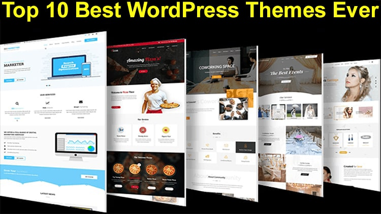 Best WordPress Themes 2021 Top 10 Best WordPress Themes 2020   2021 | Free & Pro