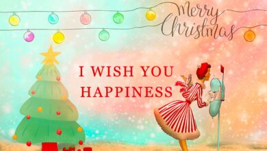 Photo of 90+ Happy Christmas Day Wishes | Quotes | Wallpaper | Images