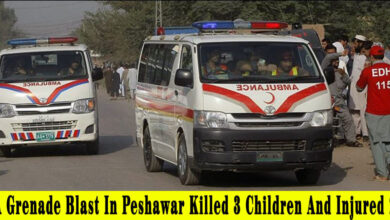 Photo of A grenade blast in Peshawar killed 3 children and injured 2