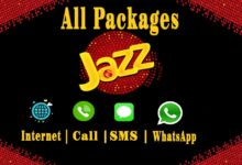 Photo of Jazz Internet, Call, SMS And WhatsApp Packages | Daily | Weekly | Monthly